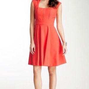 Vince Fit & Flare Open Seam w/ Pockets Dress